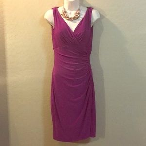 Ralph Lauren Burgundy Dress Size 2